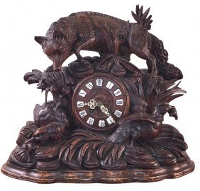19th C. German Black Forrest Clock