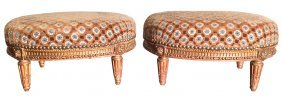 Nice Pair Of French Louis Xvi Tabourets