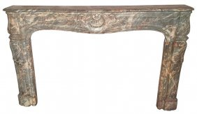 An 18th Century French Marble Mantel