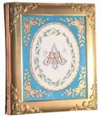 Rare 19th C. Bronze Photo Album