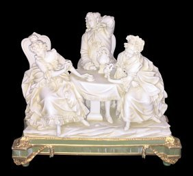 Antique Continental Porcelain Grouping