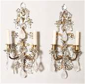 Exquisite Pr French Bronze And Rock Crystal