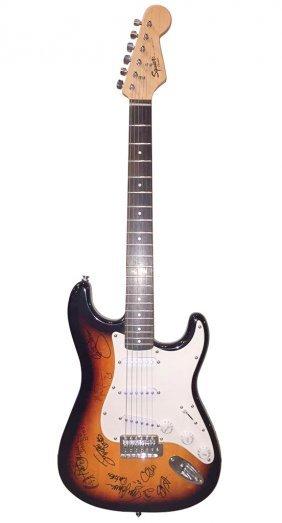 Signed Doobie Brothers Guitar