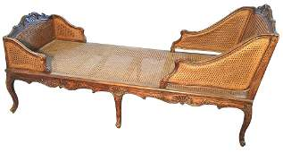 Early French Provencal Chaise Lounge