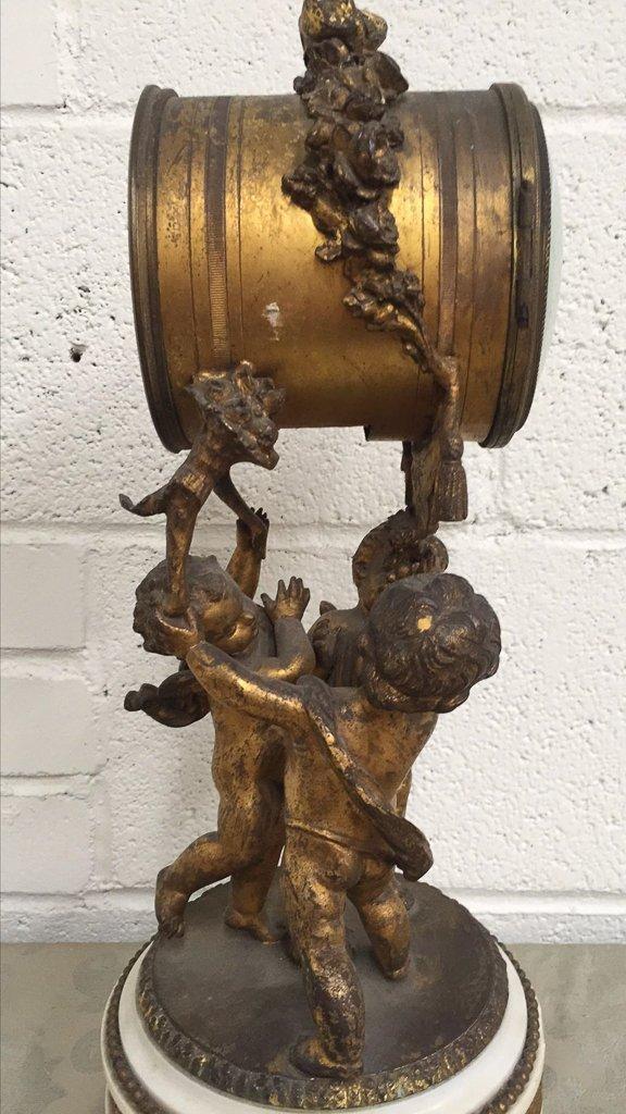 19th Century French Bronze Mantel Clock - 5