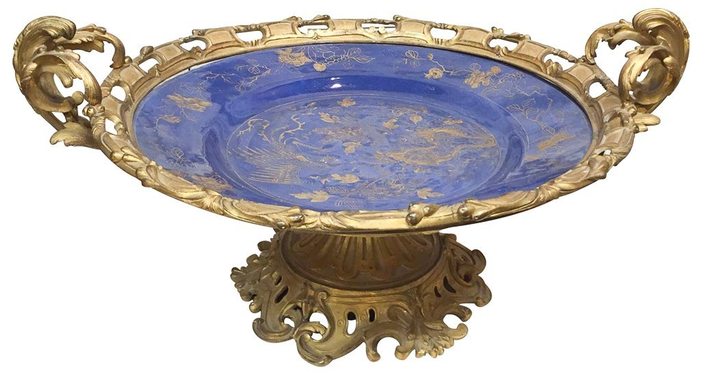 19th Century Oriental Porcelain Charger, With