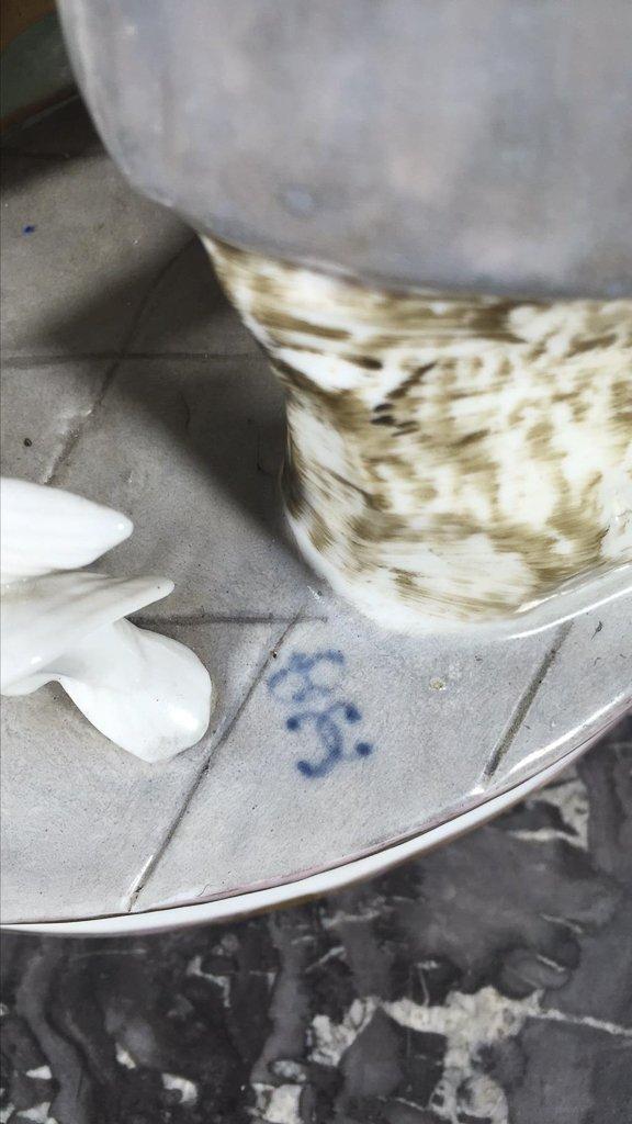 Sitzendorf  German Porcelain Table Model - 6