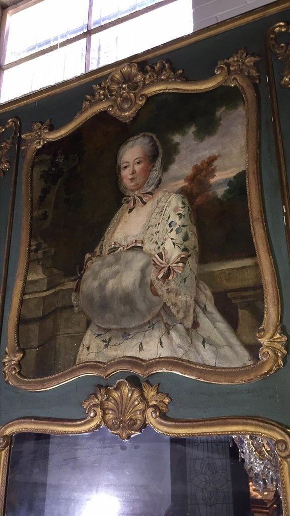 Good 19th C. French Trumeau Mirror - 5