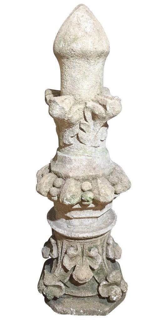 Antique French Architectural Garden Element,