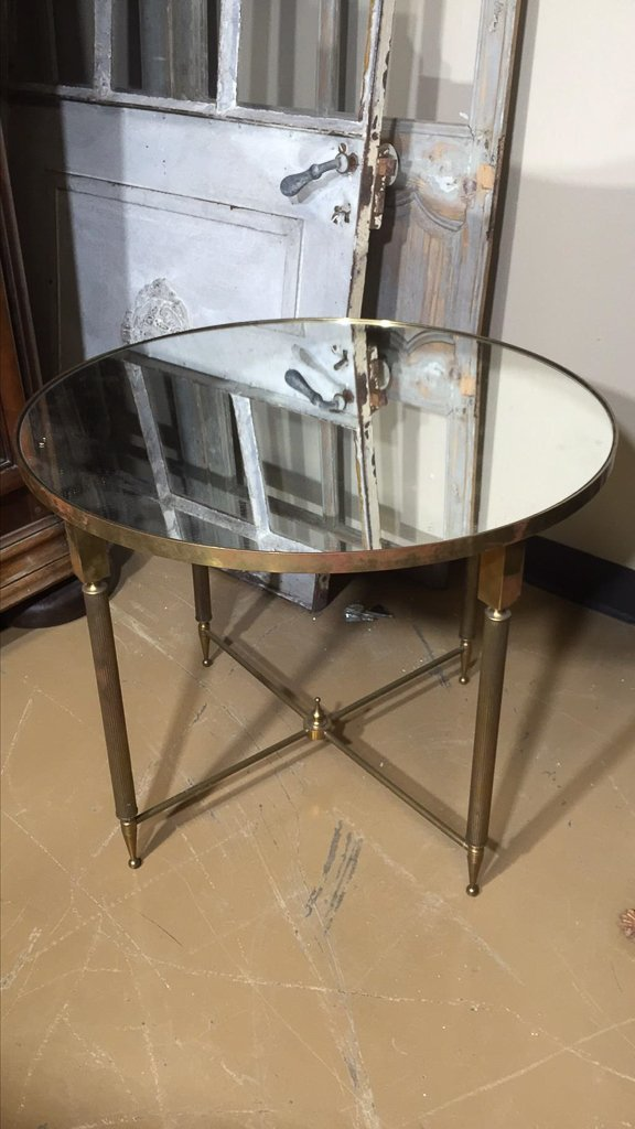 Mid Century French Brass Cocktail Table, Nice - 2