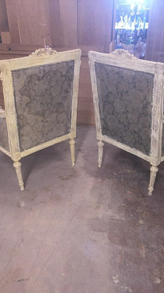 Pair Of 18th/19th C. French Louis Xvi Chairs - 7