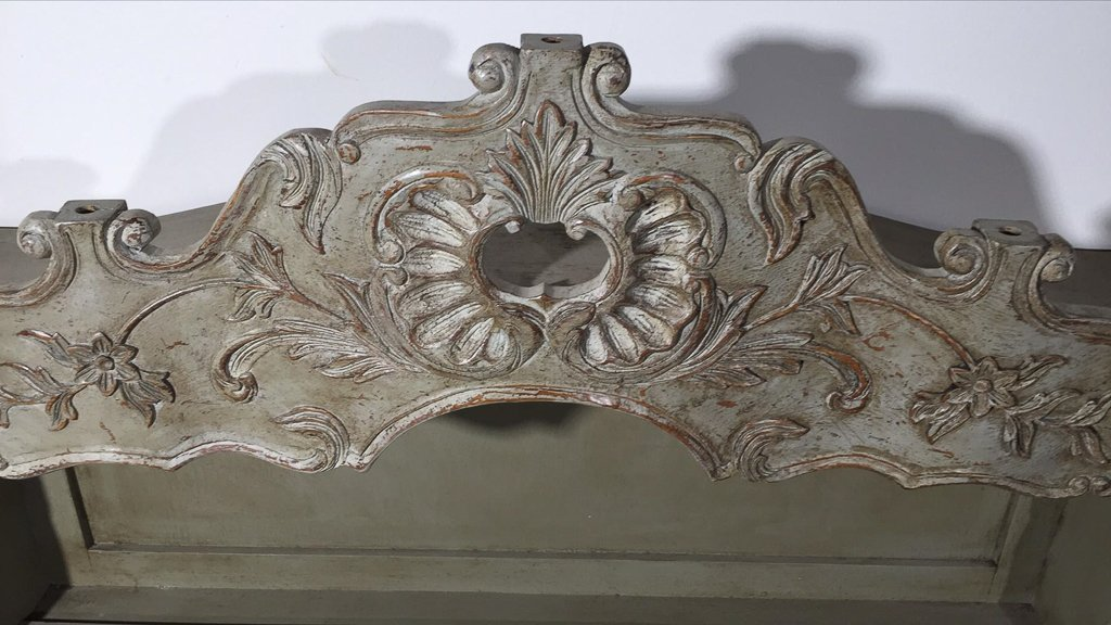 French Painted Hanging Plate Rack, From The - 2