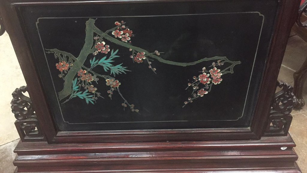 Great Pair Of Oriental Hard Stone Panels - 5