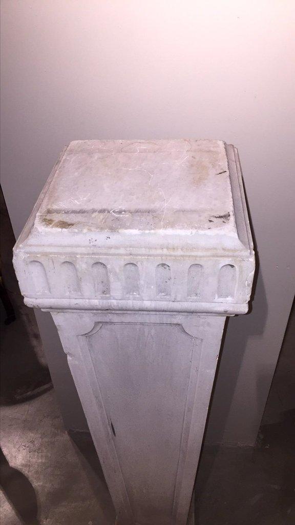 Pair Of 19th C. Italian Marble Pedestals - 3