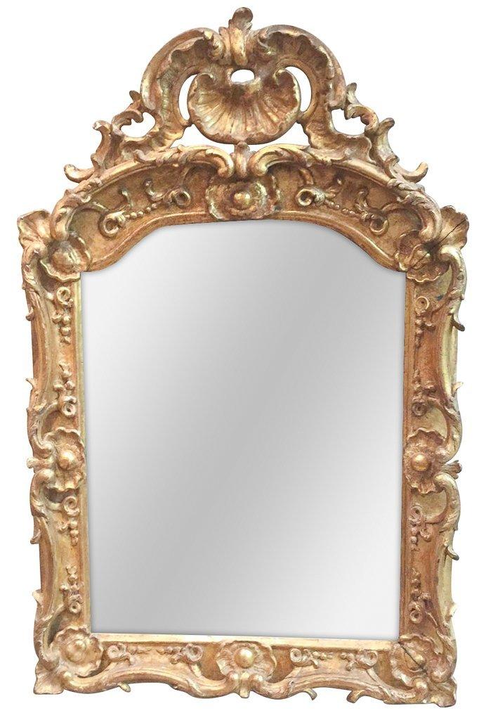 Fine 18th Century French Rococo Mirror