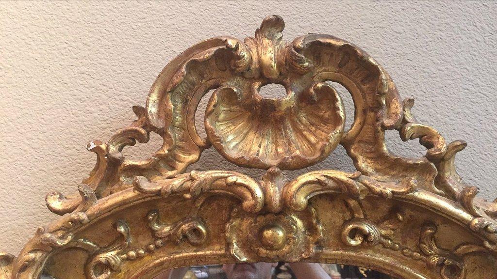 Fine 18th Century French Rococo Mirror - 2