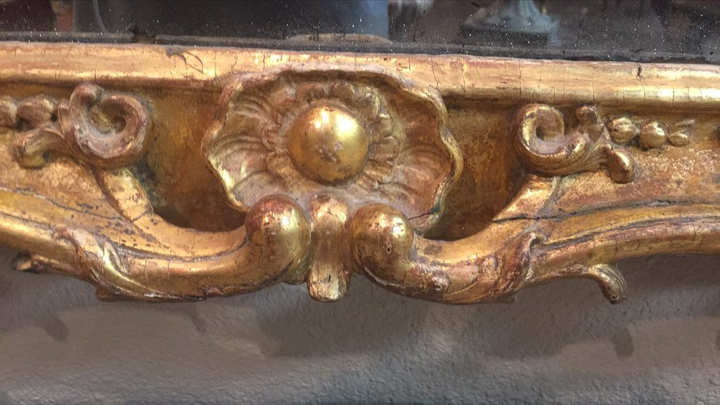 Fine 18th Century French Rococo Mirror - 4