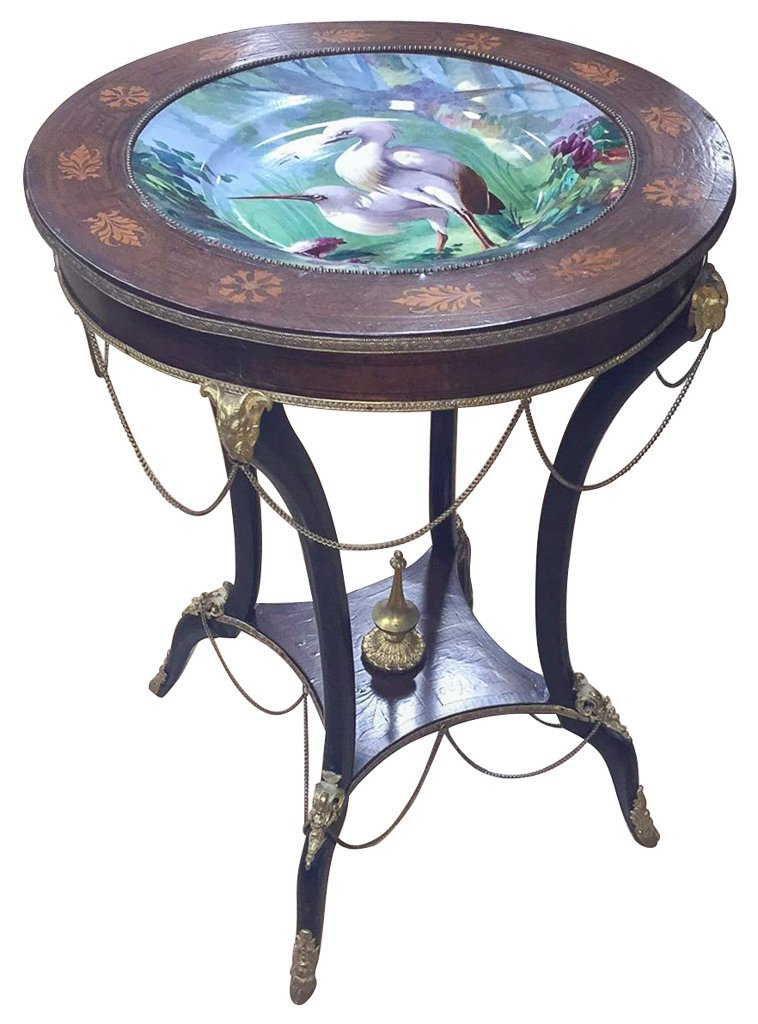 19th Century Napoleon Iii Center Table,