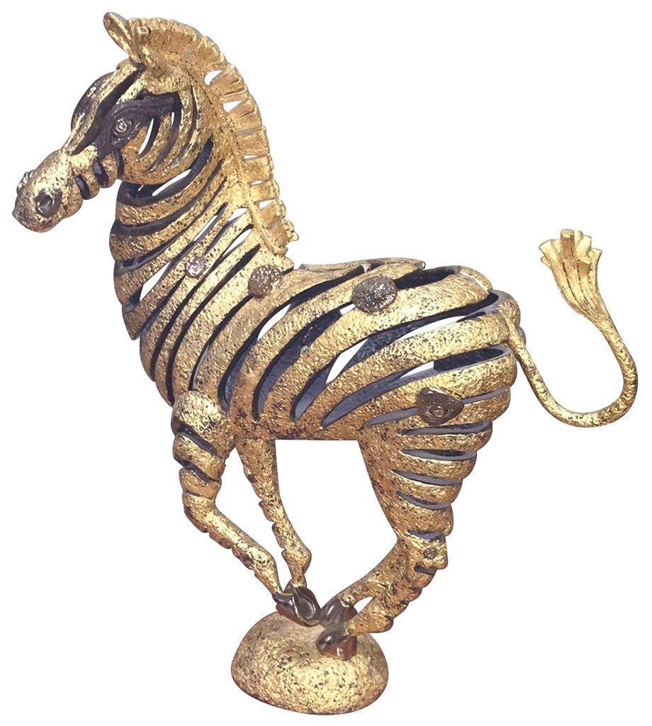 Unusual Custom Made Wrought Iron Zebra