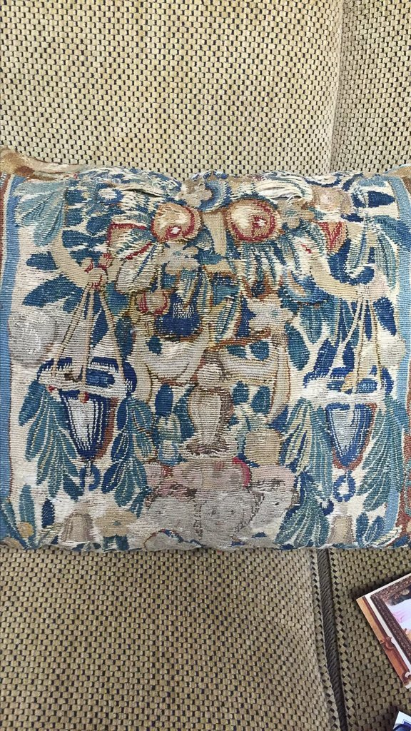 Two 18th Century Flemish Tapestry Panels, - 3
