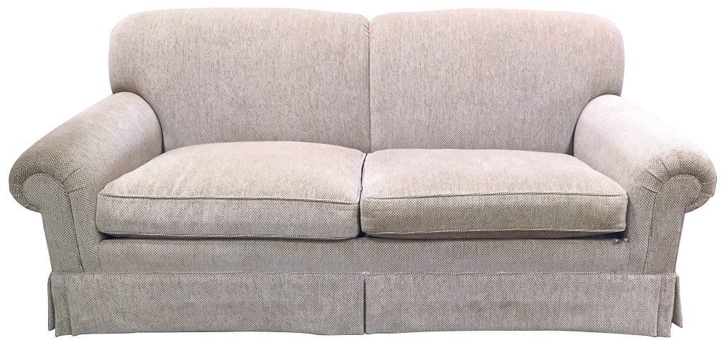 Pair Of High End Roll Arm Sofas