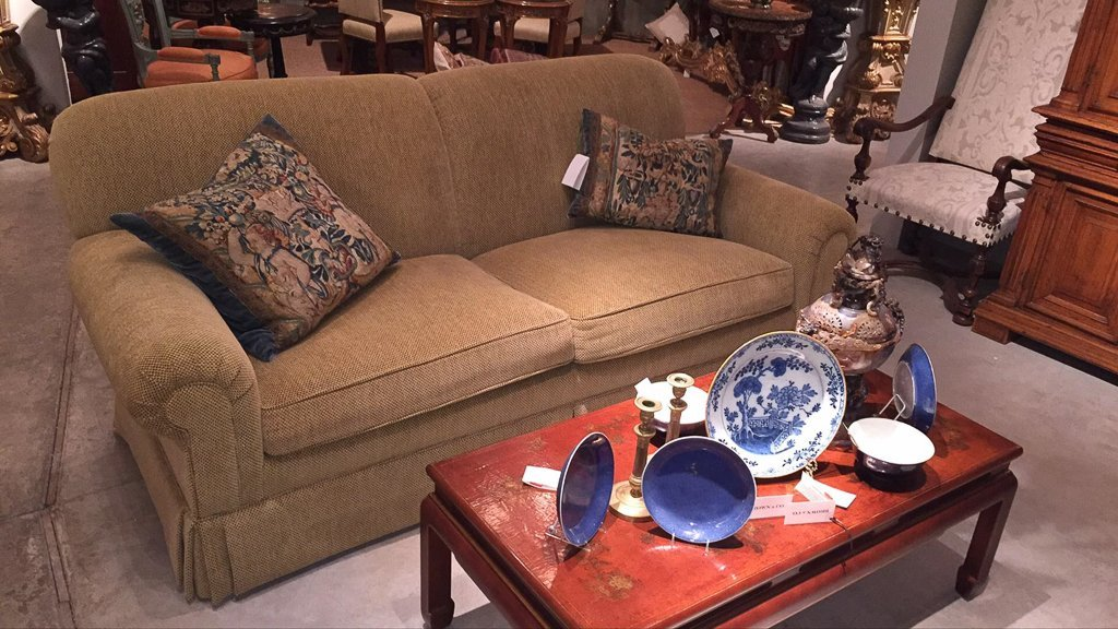 Pair Of High End Roll Arm Sofas - 6