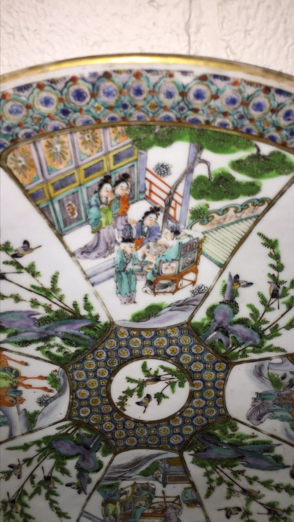 Nice Grouping Of 2 Japanese Porcelain Chargers - 2