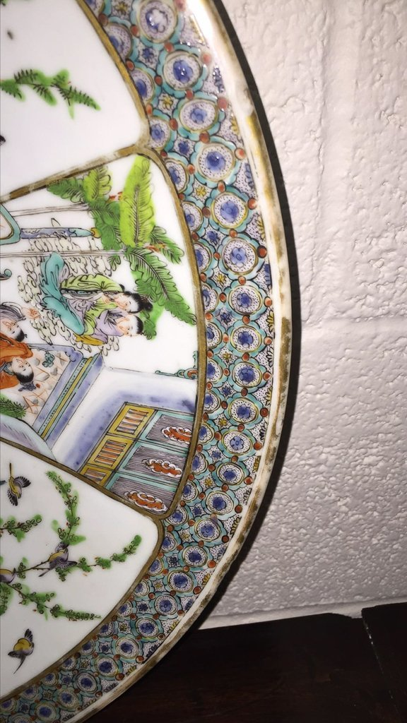 Nice Grouping Of 2 Japanese Porcelain Chargers - 3