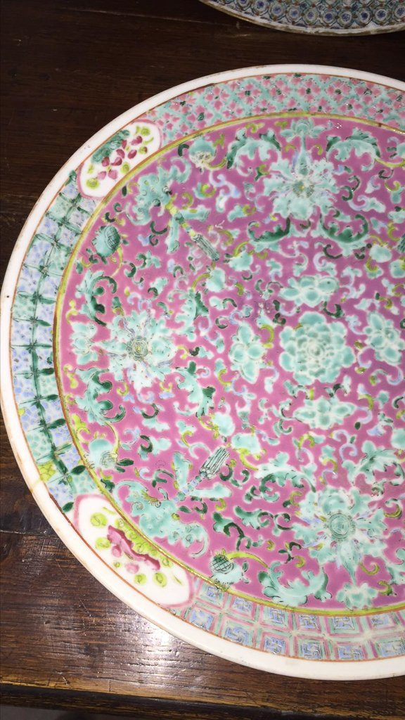 Nice Grouping Of 2 Japanese Porcelain Chargers - 4