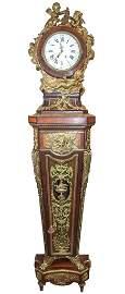 Rare  French Kingwood Long Case Clock