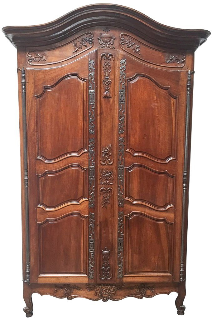 Superb 18th Century French Walnut Armoire