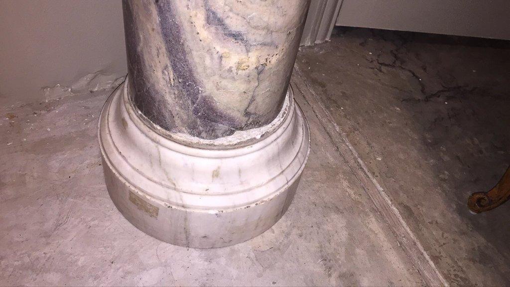 Rare 18th C. Marble Column Pedestal - 3