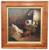 George Armfield, 19th C British, Terriers In