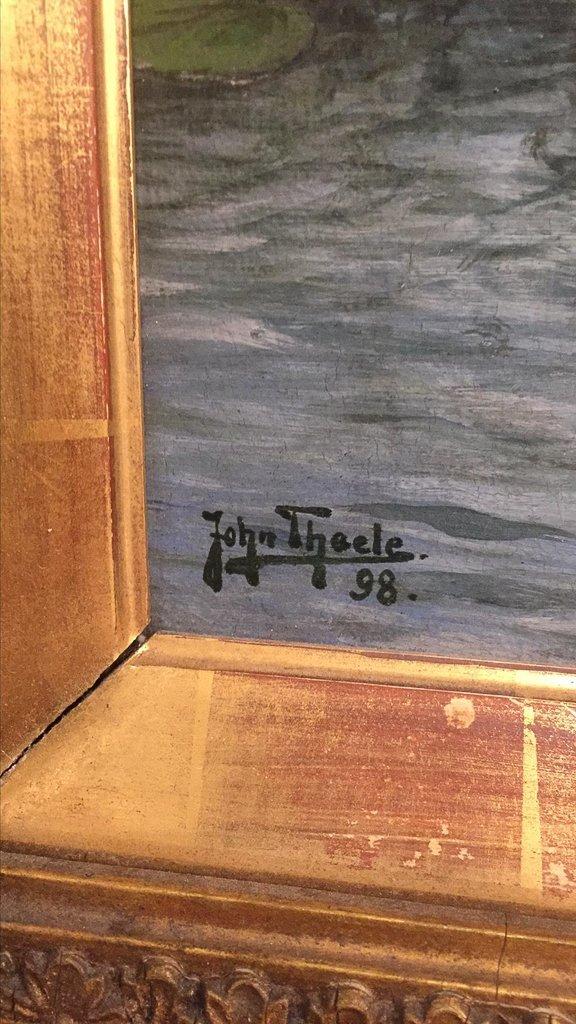 John Theel, British, Whimsical Oil On Canvas, - 4
