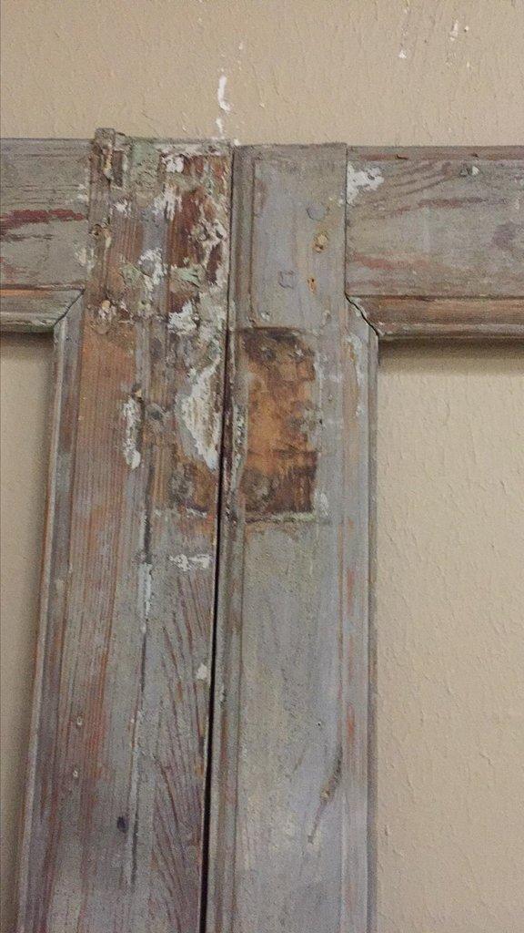 19th-century Antique French Pine Paneled Door - 3