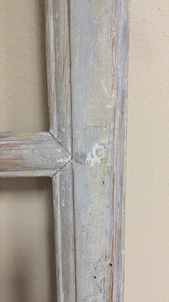 19th-century Antique French Pine Paneled Door - 4