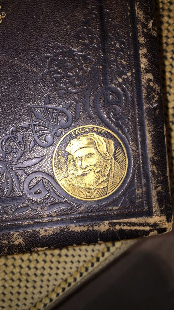 Large Pr. Works Of Shakespeare, Gold Tooled, - 3