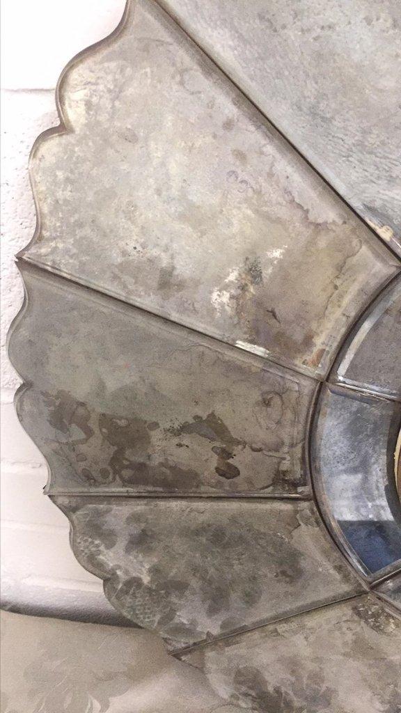 Deco Venetian Glass Deco Style Wall - 3
