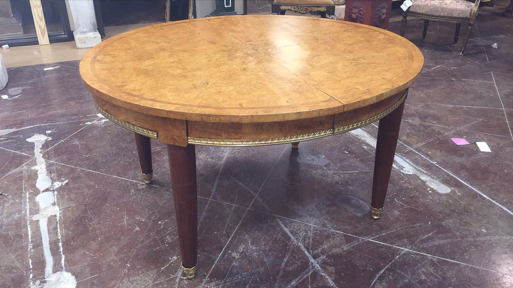 Fine French Oval Deco Dining Table, Very Fine - 3