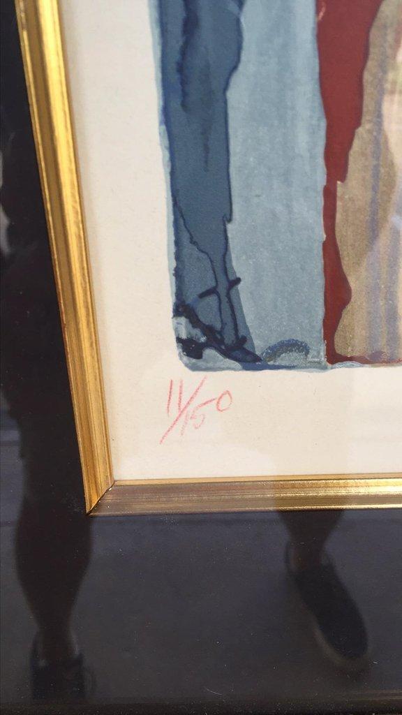 Salvador Dali Attribution, Not Signed But - 3