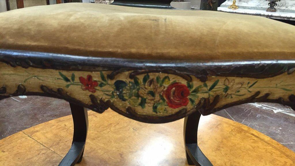 Italian Venetian Style Painted Side Chair - 2