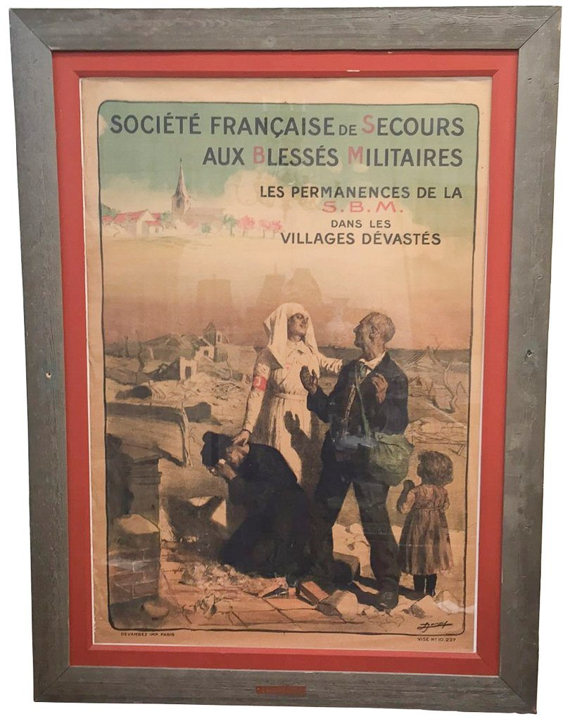 French World War I Poster