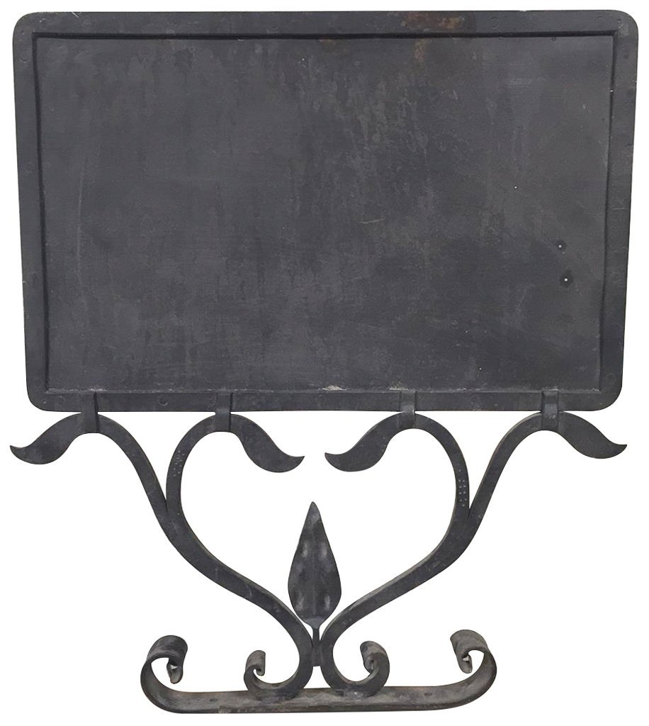 French Wrought Iron Store Sign,23 X 20