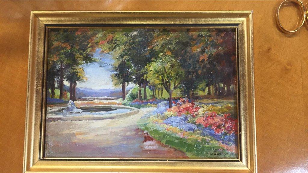 Miscellaneous Lot, Centerpiece, Painting, - 7