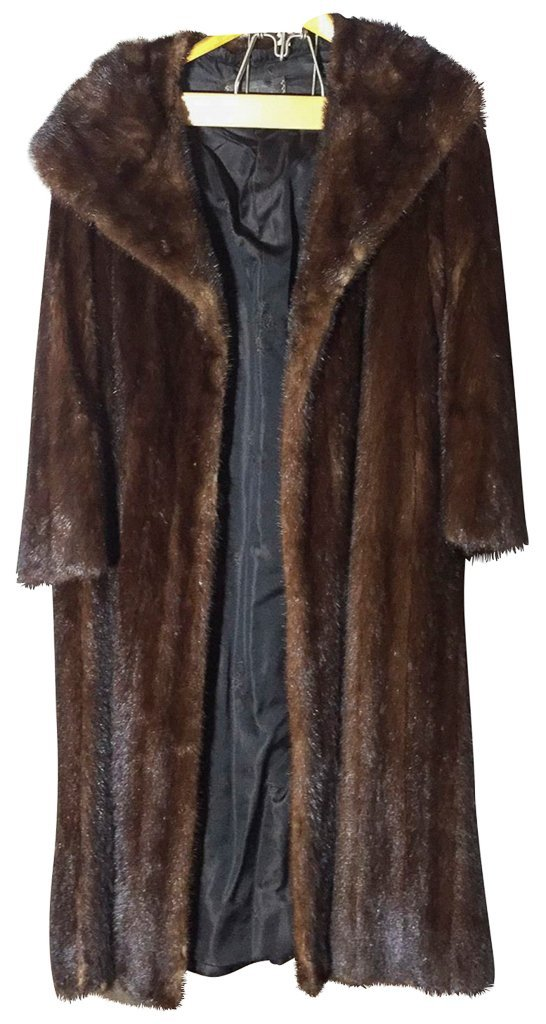 Full Length Mink Coat Good Condition