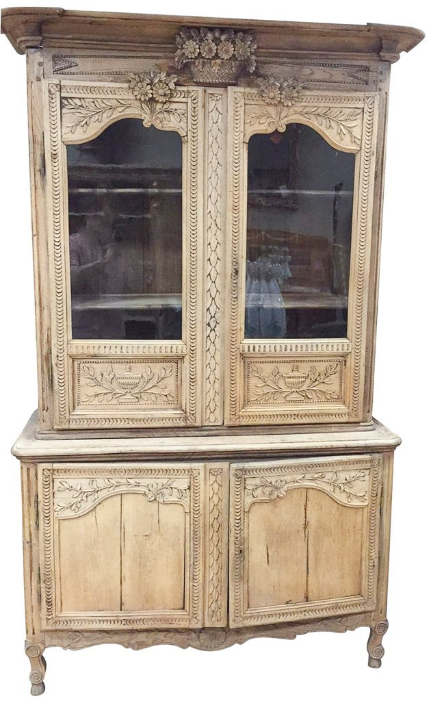 A 19th-century French Carved Oak Buffet De Corp,