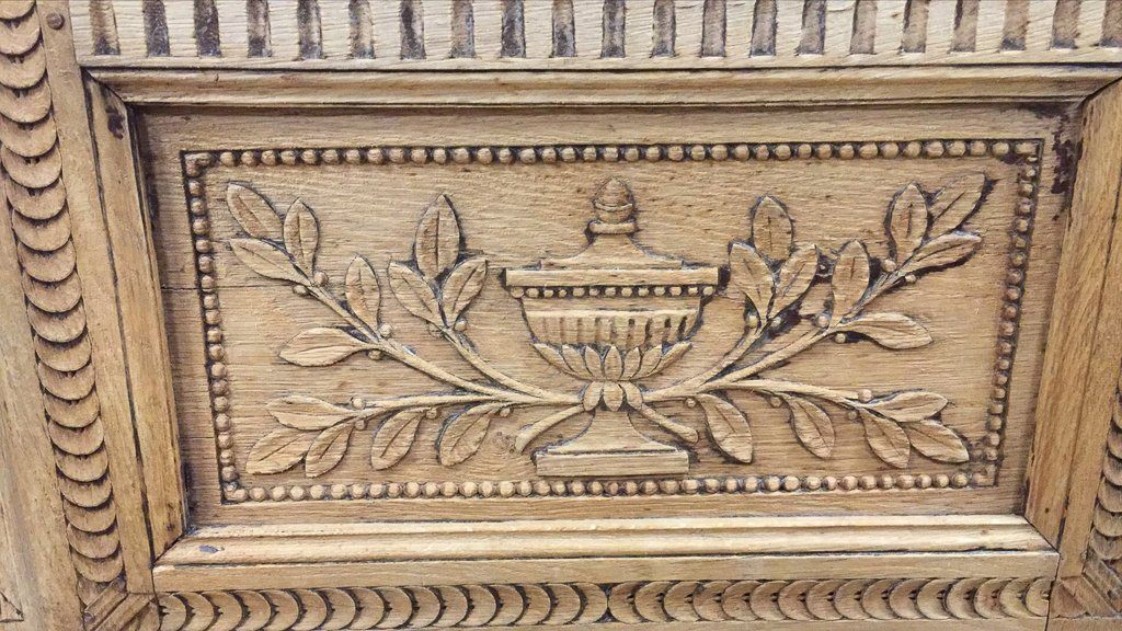 A 19th-century French Carved Oak Buffet De Corp, - 2