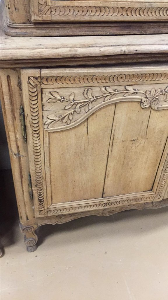 A 19th-century French Carved Oak Buffet De Corp, - 6