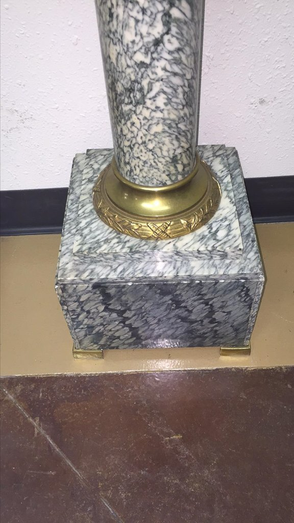 Find A Pair Of Exotic French Marble Pedestals - 4