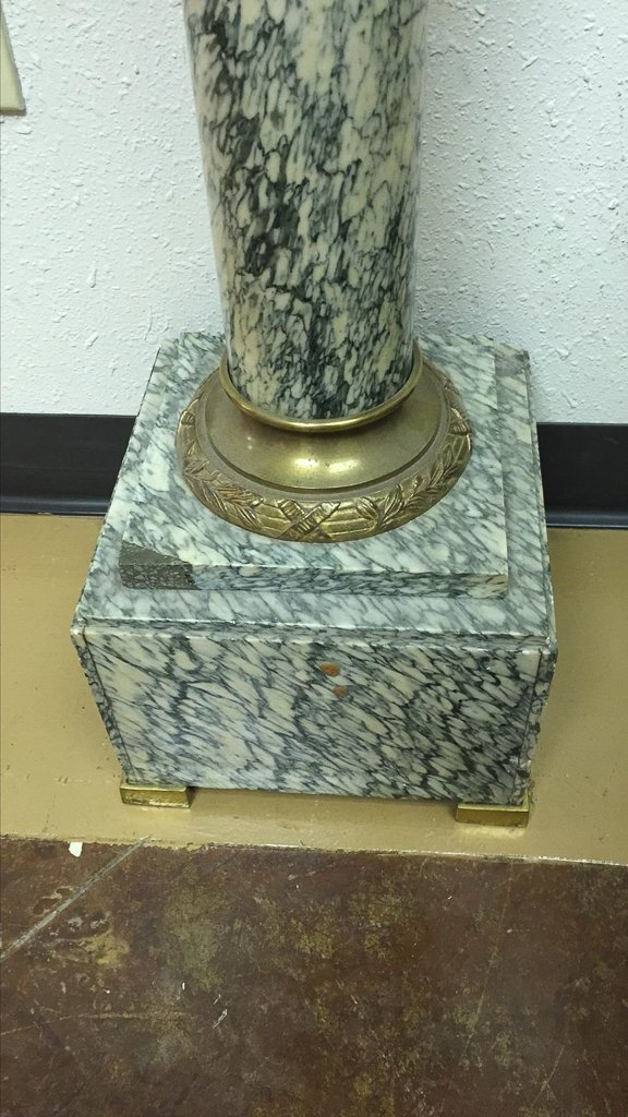 Find A Pair Of Exotic French Marble Pedestals - 5